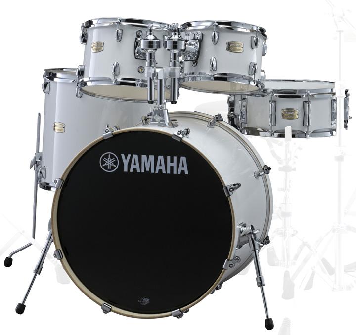 YAMAHA SBP2F5 PWピュアホワイト ヤマハ ステージカスタム 5点シェルキット 22BDセット【YRK】