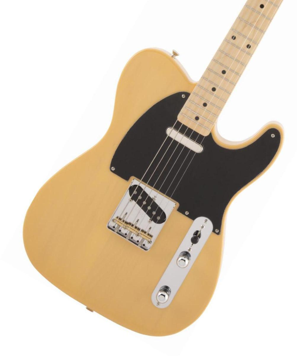 Fender / Made in Japan Traditional 50s Telecaster Maple Fingerboard Butterscotch Blonde (BTB) フェンダー 《純正ケーブル&ピック1ダースプレゼント!/+661944400》【2020 NEW MODEL】