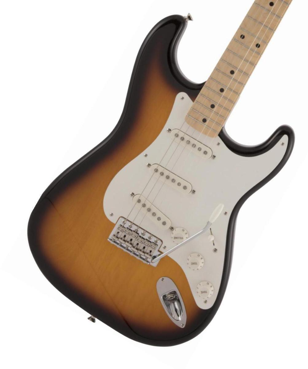 Fender / Made in Japan Traditional 50s Stratocaster Maple Fingerboard 2-Color Sunburst フェンダー《純正ケーブル&ピック1ダースプレゼント!/+661944400》【2020 NEW MODEL】