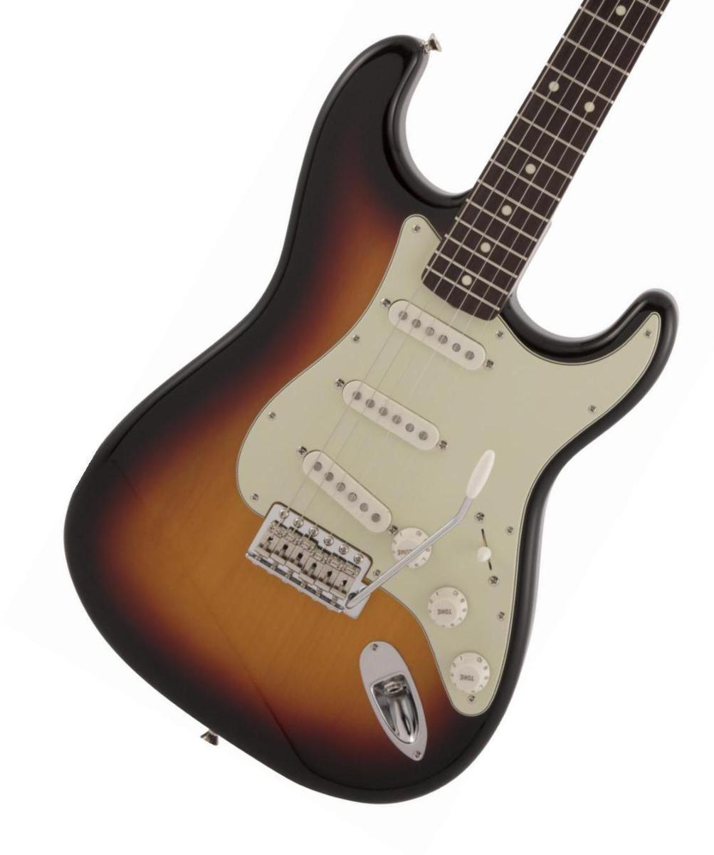 Fender / Made in Japan Traditional 60s Stratocaster Rosewood Fingerboard 3-Color Sunburst フェンダー《純正ケーブル&ピック1ダースプレゼント!/+661944400》【2020 NEW MODEL】