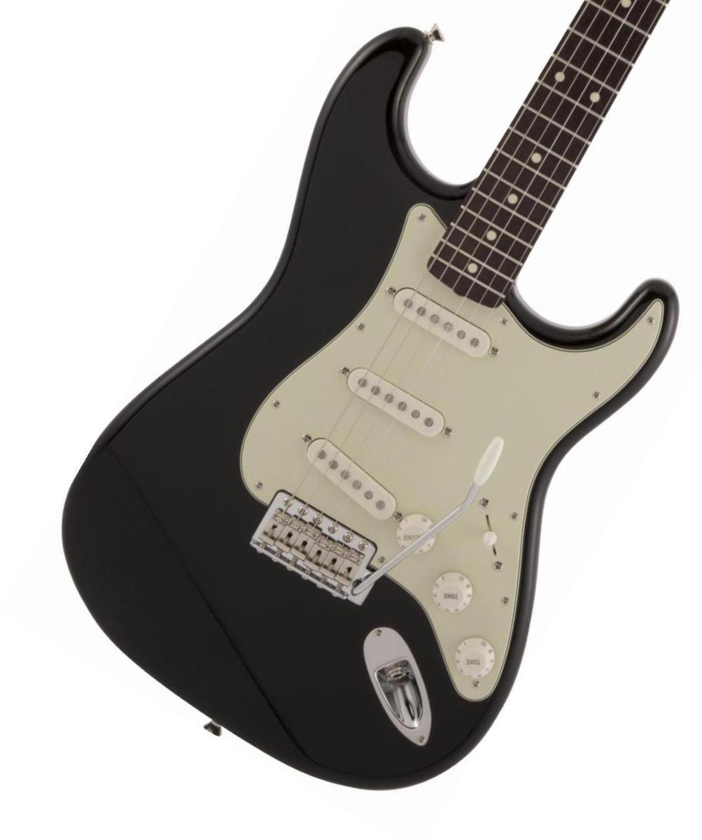 Fender / Made in Japan Traditional 60s Stratocaster Rosewood Fingerboard Black フェンダー【2020 NEW MODEL】《純正ケーブル&ピック1ダースプレゼント!/+661944400》