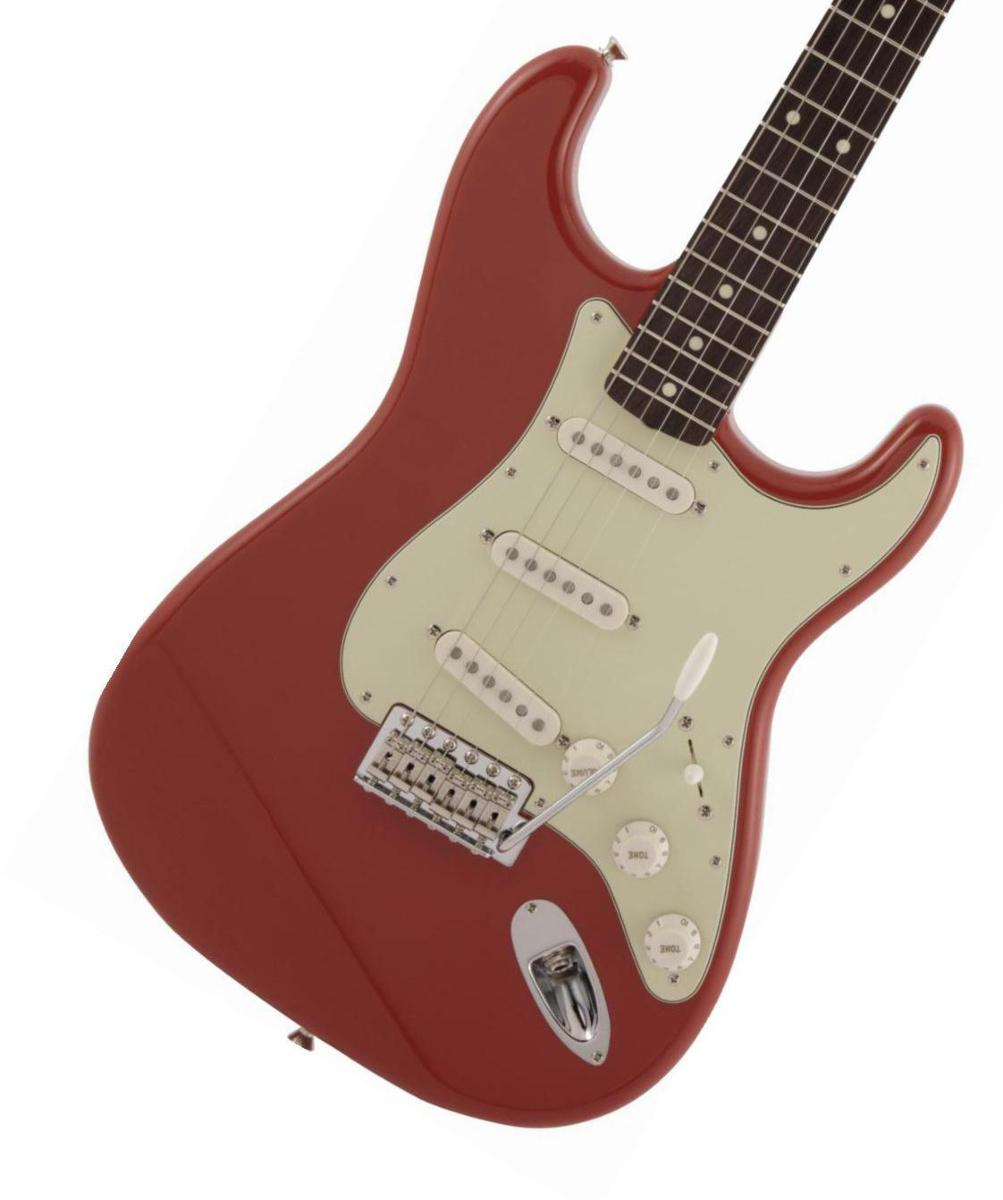 Fender / Made in Japan Traditional 60s Stratocaster Rosewood Fingerboard Fiesta Red フェンダー【2020 NEW MODEL】《純正ケーブル&ピック1ダースプレゼント!/+661944400》