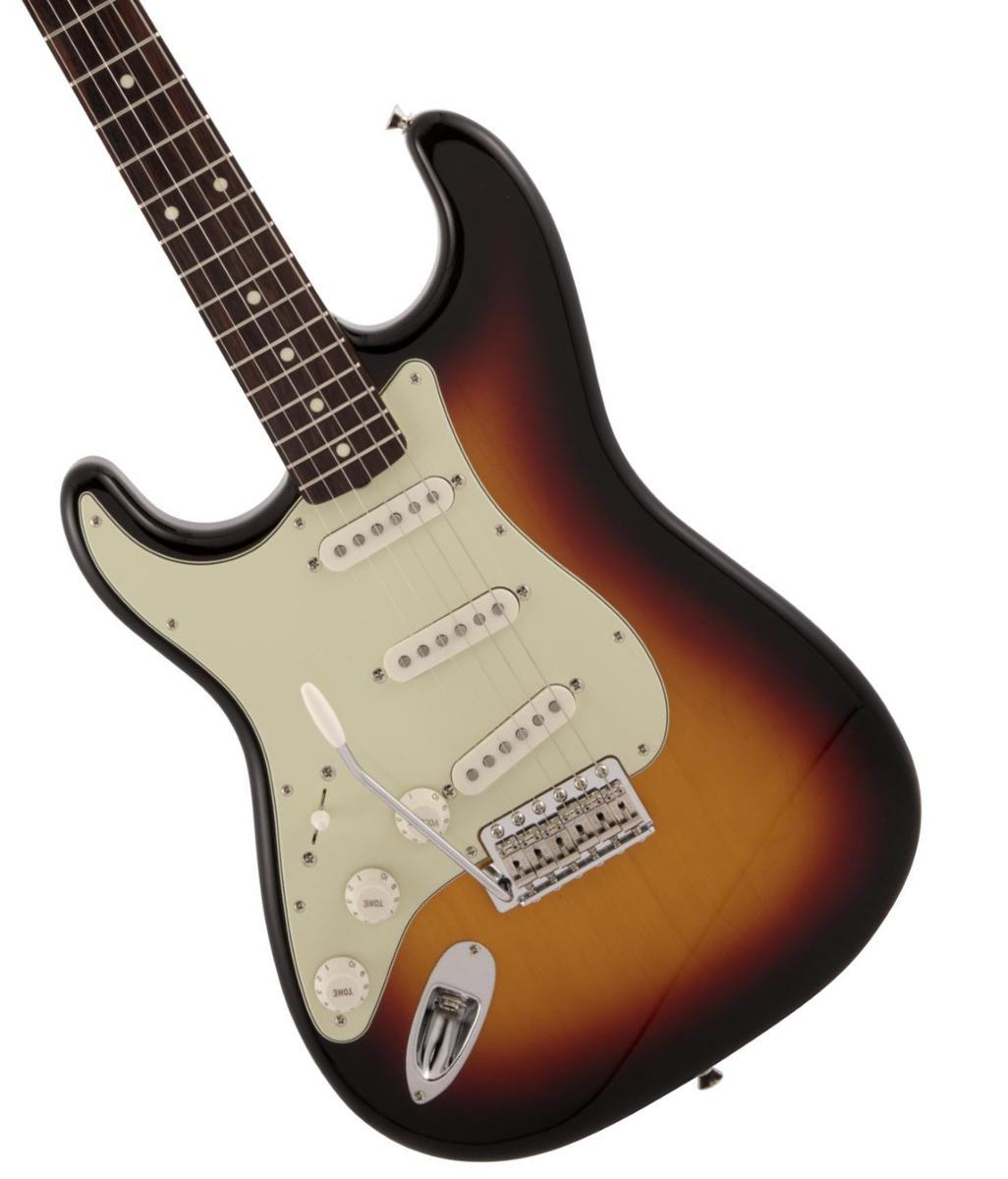 Fender / Made in Japan Traditional 60s Stratocaster Left-Handed Rosewood Fingerboard 3-Color Sunburst【2020 NEW MODEL】《純正ケーブル&ピック1ダースプレゼント!/+661944400》