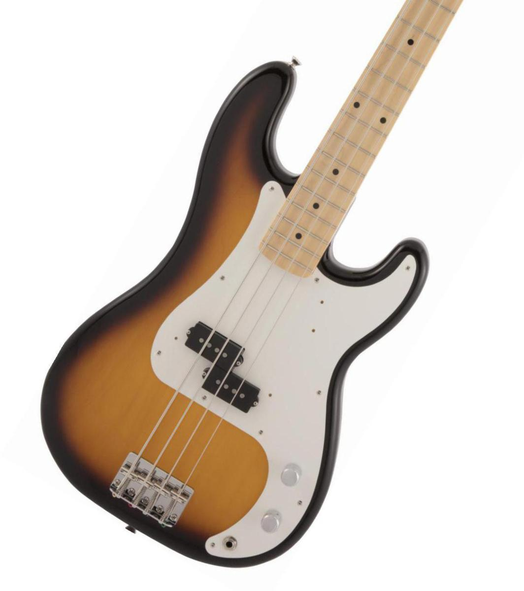 Fender / Made in Japan Traditional 50s Precision Bass Maple Fingerboard 2-Color Sunburst【2020 NEW MODEL】《純正ケーブル&ピック1ダースプレゼント!/+661944400》