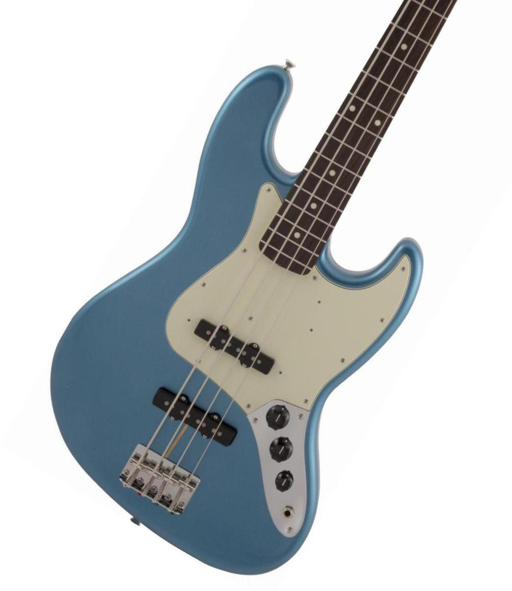 Fender / Made in Japan Traditional 60s Jazz Bass Rosewood Fingerboard Lake Placid Blue【2020 NEW MODEL】《純正ケーブル&ピック1ダースプレゼント!/+661944400》