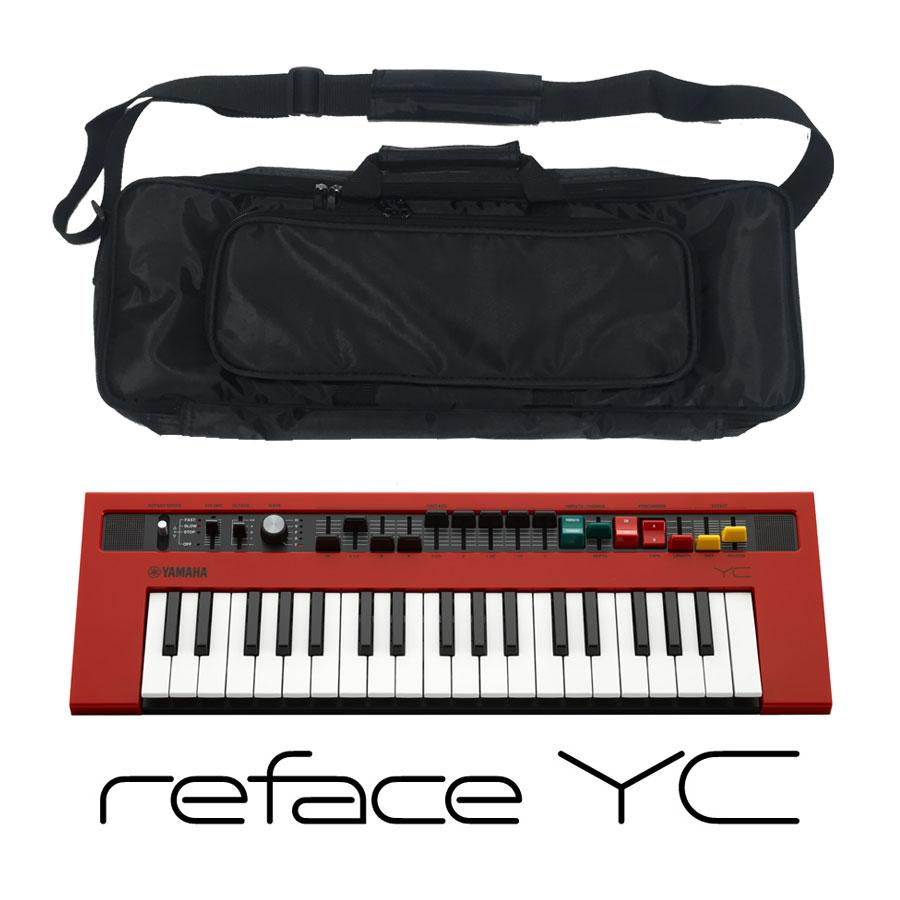YAMAHA ヤマハ YC/ reface reface ヤマハ YC【ケースセット!】モバイルミニキーボード【YRK】, onelife:ad25129b --- ww.thecollagist.com