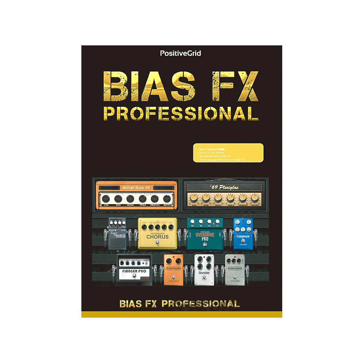 Positive Grid ポジティブグリッド / BIAS FX Professional バイアス FX プロフェッショナル アンプモデリングソフト【お取り寄せ商品】