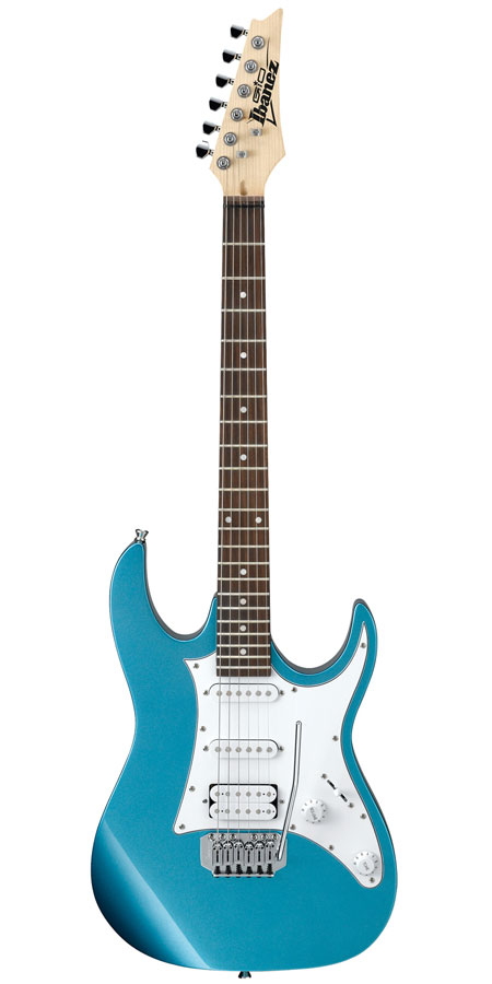 Ibanez GIO GRX40 MLB Light Blue Metallic Electric Guitar Introduction To The Model