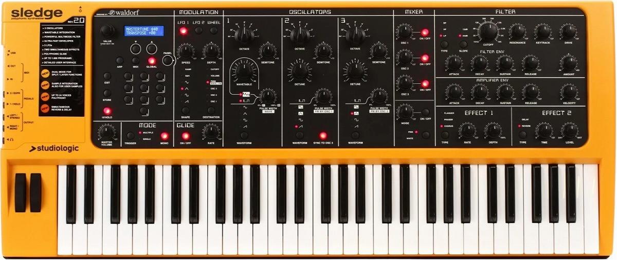 Studiologic スタジオロジック Sledge 2.0/ Sledge 2.0/ スレッジ【お取り寄せ商品】, 小高町:792f7a50 --- ww.thecollagist.com