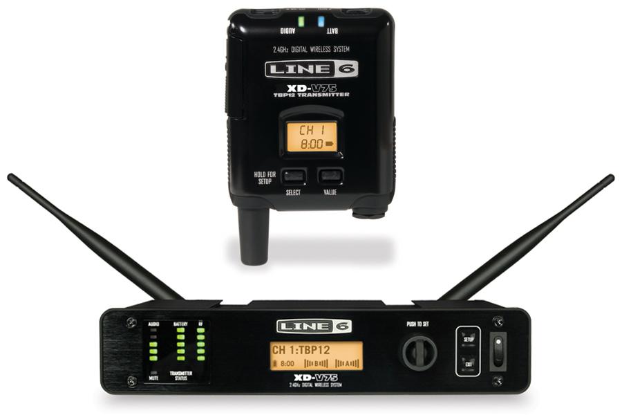 Line6 ラインシックス / XD-V75TR デジタルワイヤレスシステム【YRK】