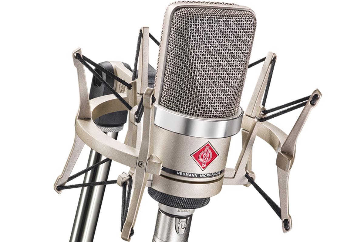 NEUMANN ノイマン / TLM 102 studio set ラージダイアフラムマイク(カーディオイド、ニッケル色)EA4【国内正規品保証3年付き】《お取り寄せ商品》