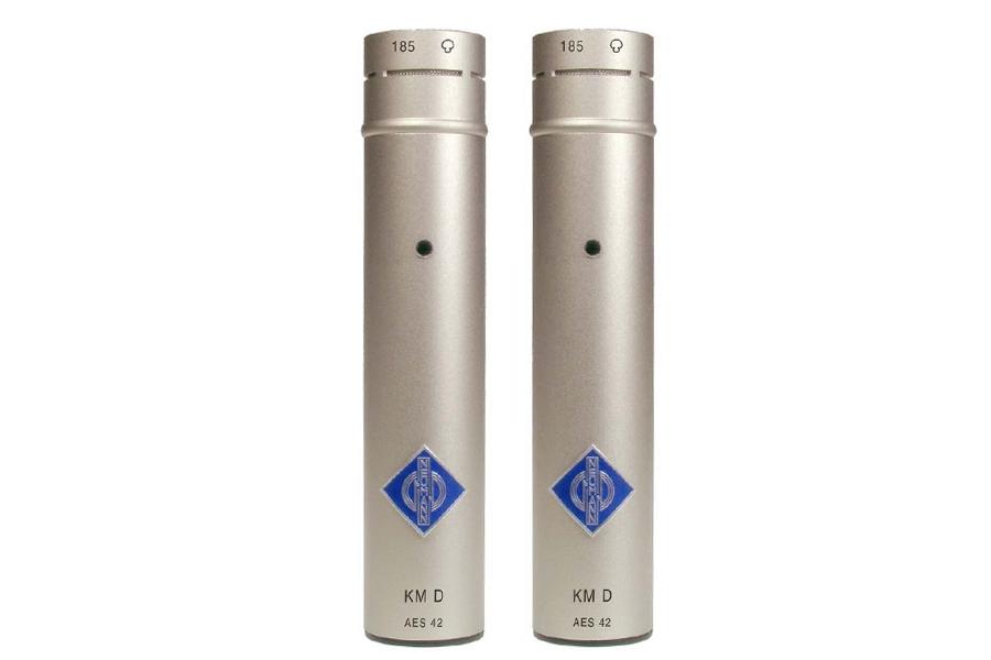 NEUMANN ノイマン /KM 183 D stereo set KK183(無指向性)+KM D ニッケル色×2本セット【国内正規品保証3年付き】《お取り寄せ商品》