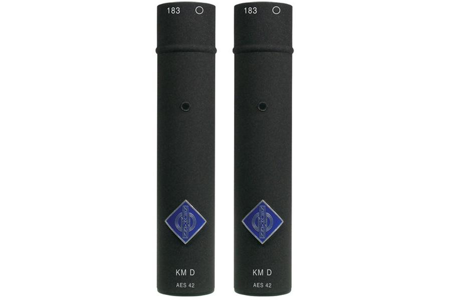 NEUMANN ノイマン / KM 183 D nx stereo set ミニチュアマイクKK183(無指向性)+KM D ネクステル色×2セット【国内正規品保証3年付き】《お取り寄せ商品》