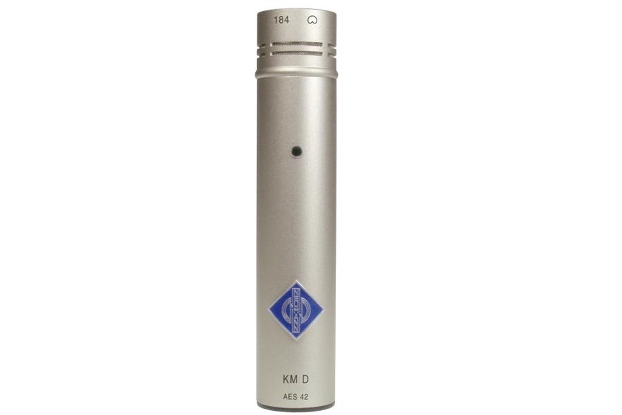 NEUMANN ノイマン / KM 184 D ミニチュアマイクKK 184(カーディオイド)+KM D ニッケル色【国内正規品保証3年付き】《お取り寄せ商品》