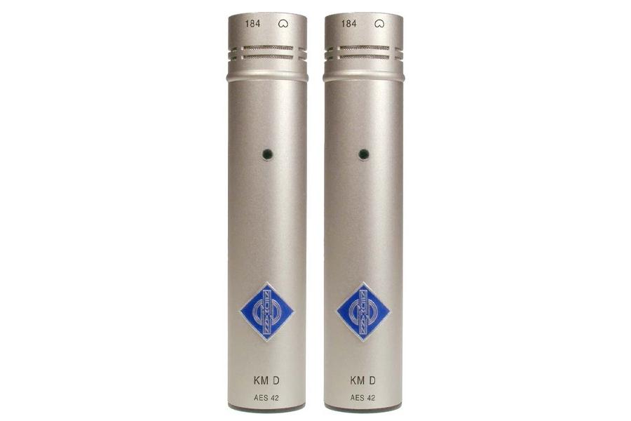 NEUMANN ノイマン / KM 184 D stereo set ミニチュアマイクステレオセットKK 184(カプセル・カーディオイド)+KM Dニッケル色×2【国内正規品保証3年付き】《お取り寄せ商品》