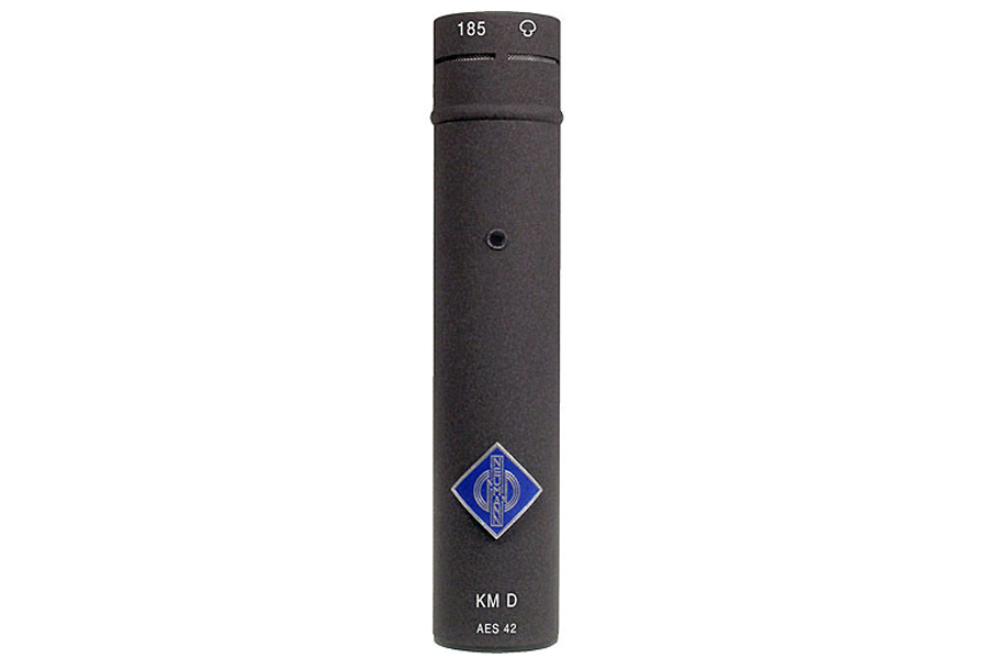 NEUMANN ノイマン / KM 185 D nx ミニチュアマイクKK 185(カプセル、ハイパーカーディオイド)+KM D ネクステル色【国内正規品保証3年付き】《お取り寄せ商品》