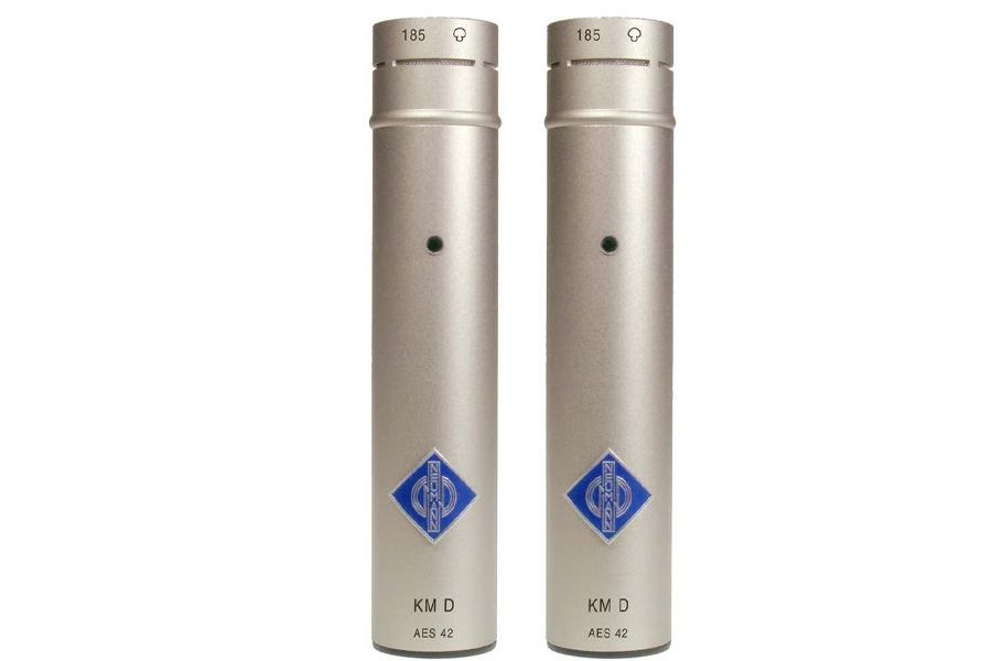 NEUMANN ノイマン / KM 185 D stereo set ミニチュアマイクステレオセットKK 185(カプセル・カーディオイド)+KM Dニッケル色×2【国内正規品保証3年付き】《お取り寄せ商品》