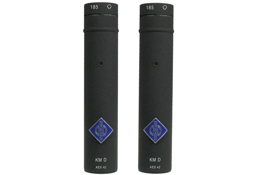 NEUMANN ノイマン / KM 185 D nx stereo set ミニチュアマイクステレオセットKK 185(カプセル・カーディオイド)+KM D ネクステル色×2【国内正規品保証3年付き】《お取り寄せ商品》