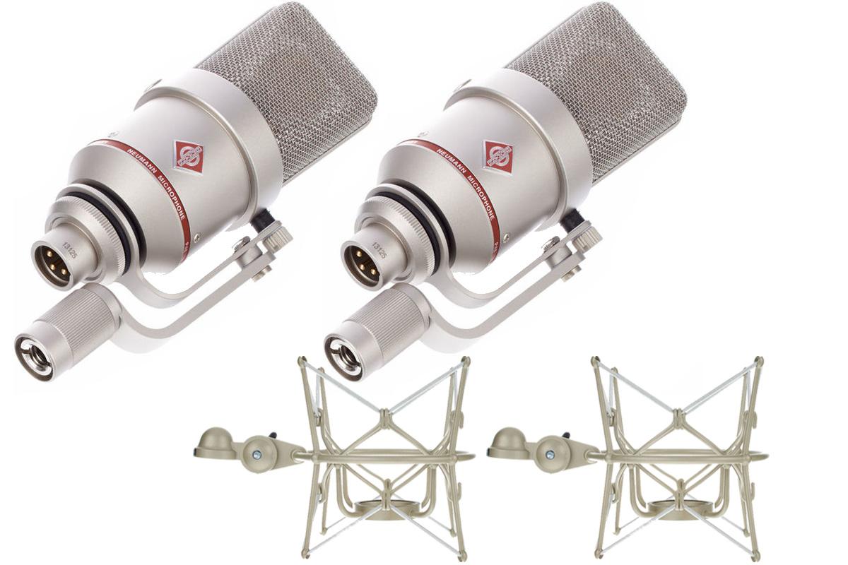 NEUMANN ノイマン / TLM 170 R Stereo set ラージ ダイヤフラム マイクロフォン【国内正規品保証3年付き】《お取り寄せ商品》