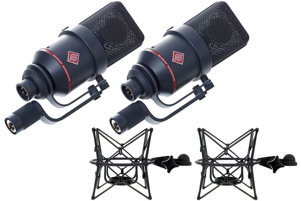 NEUMANN ノイマン / TLM 170 R mt Stereo set ラージ ダイヤフラム マイクロフォン【国内正規品保証3年付き】《お取り寄せ商品》