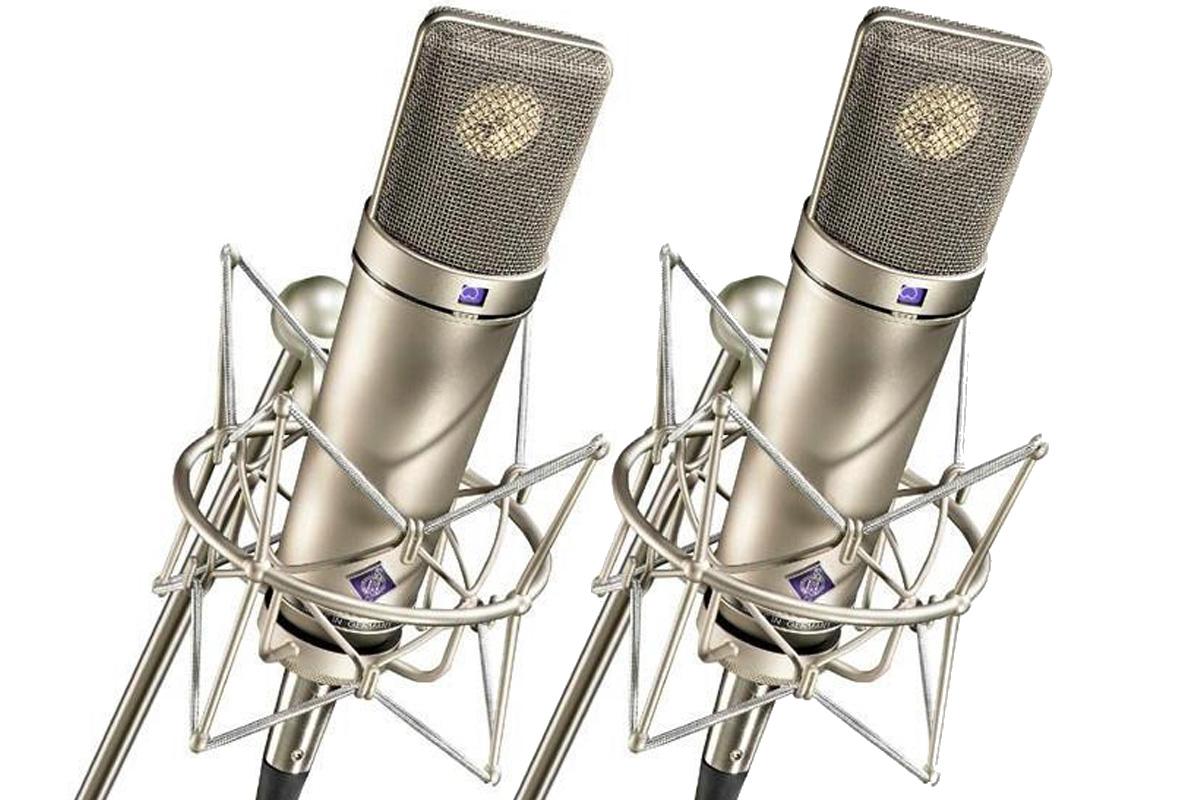 NEUMANN ノイマン / U 87 Ai Stereo set スタジオマイクロフォン【国内正規品保証3年付き】《お取り寄せ商品》