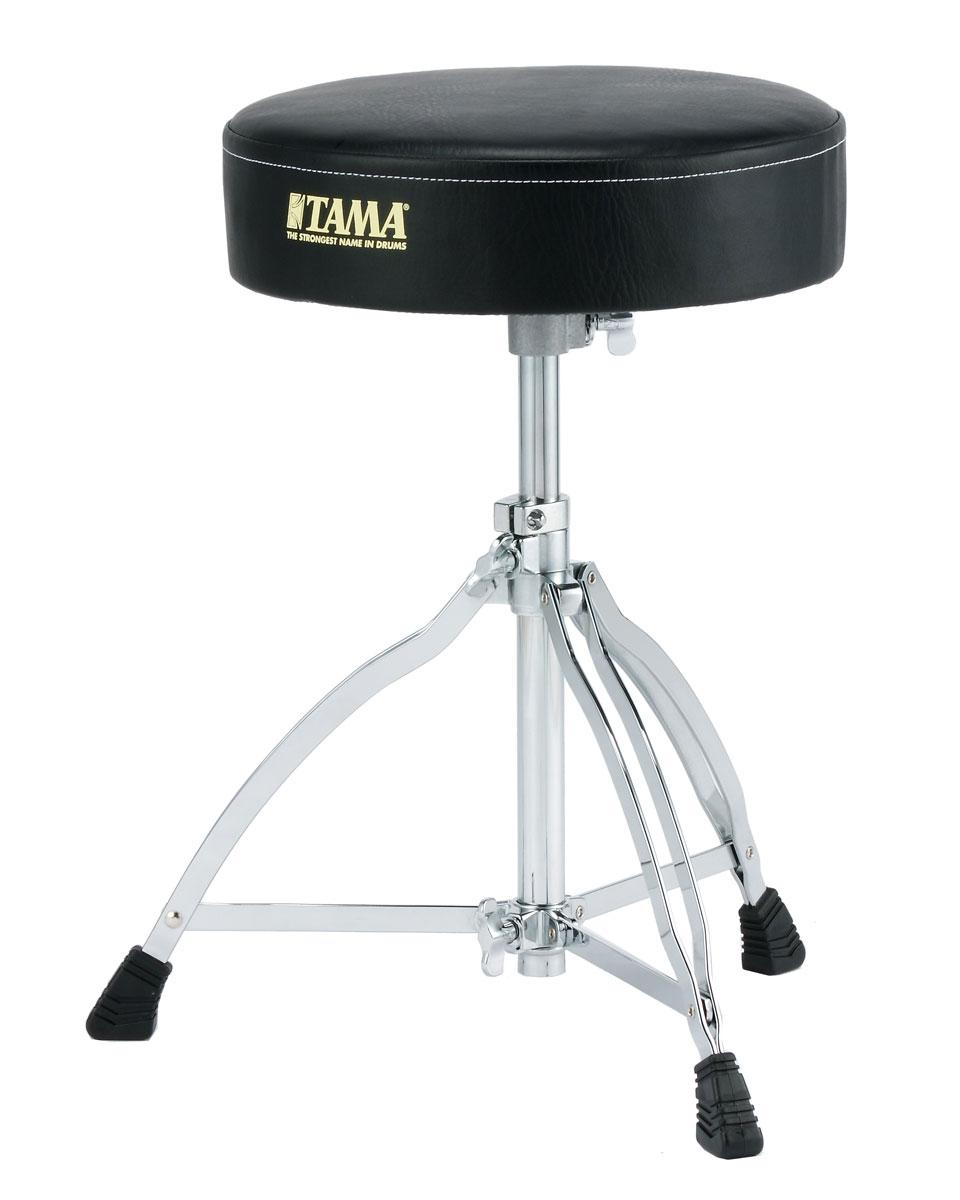 13インチ 約33cm の大型シート 安定した脚部 高いコストパフォーマンスを誇るエントリークラスのドラムスローン定番 ドラムイス TAMA 毎日続々入荷 ドラムスローン HT130 有名な タマ