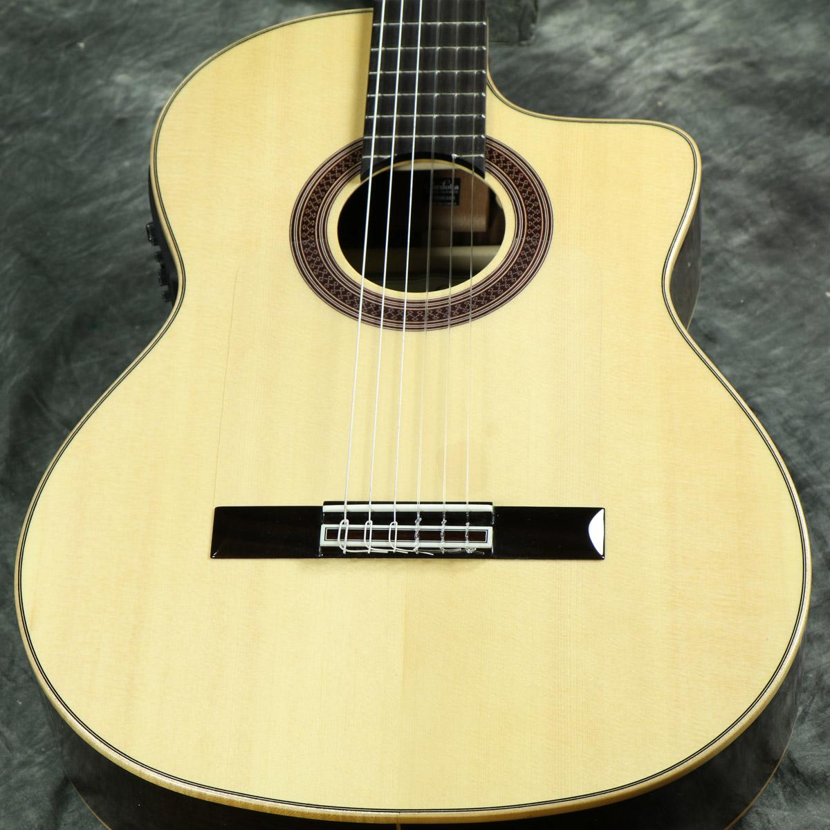 50mmナット幅 ゴルペ板装着のエレガット Cordoba GK 本店 Studio Negra 《特典つき +80-setcordoba20》 ガットギター エレガット IBERIA クラシックギター オンラインショッピング コルドバ フラメンコギター Series