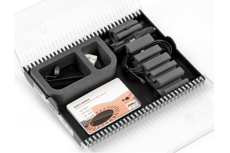 DPA Microphones ディーピーエーマイクロホンズ / LMK-SC4061-B (SC4061-BM ミニチュアマイクロホン・ラベリアキット)【お取り寄せ商品】