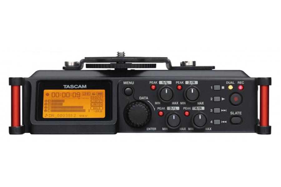 TASCAM タスカム / DR-70D(カメラ用リニアPCMレコーダー)《8GB SDカードつき:611328600》【お取り寄せ商品】