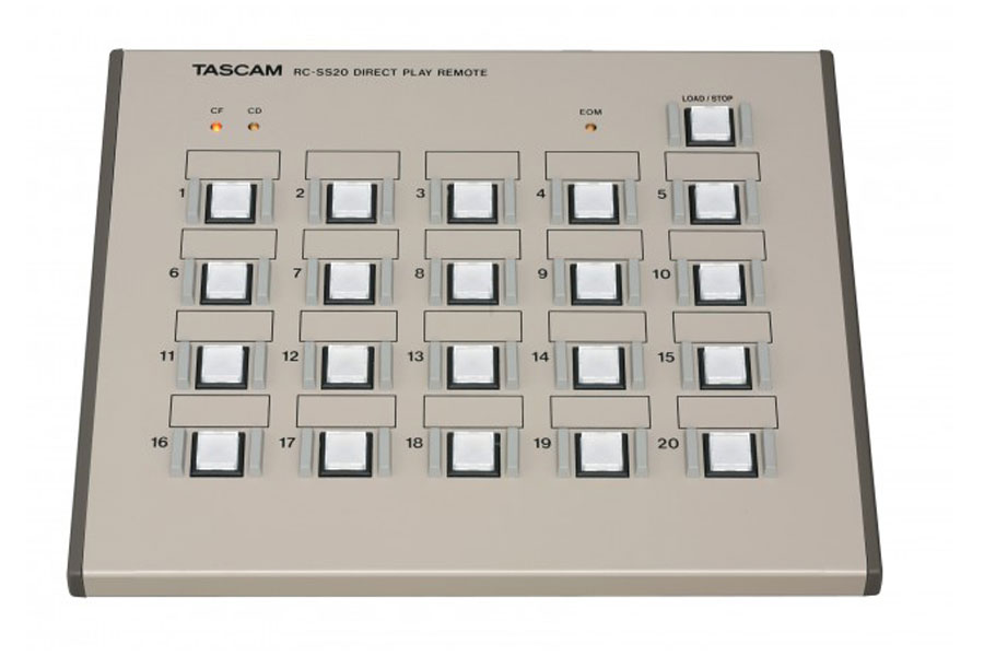 TASCAM タスカム / RC-SS20 TASCAM業務用プレーヤー対応コントローラー【お取り寄せ商品】