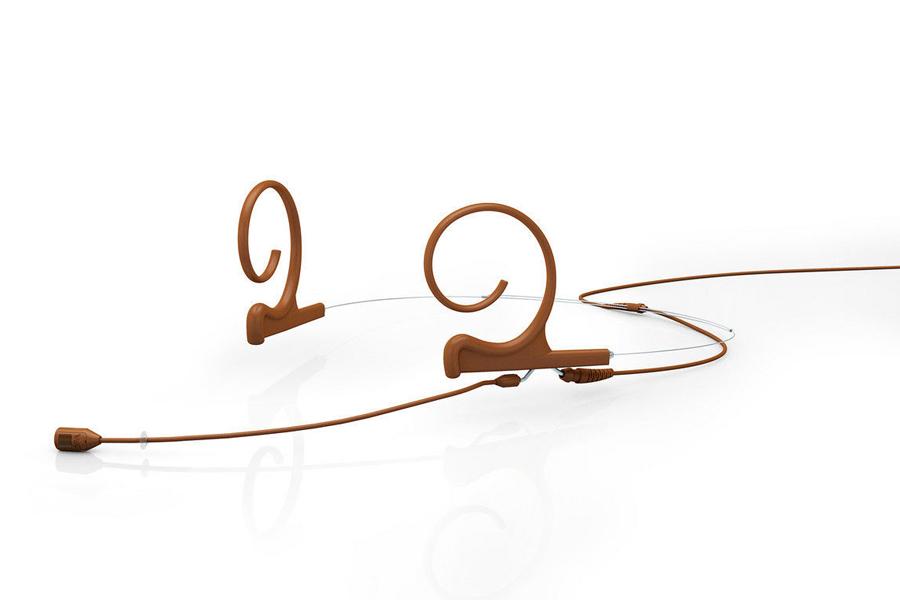 DPA Microphones ディーピーエーマイクロホンズ / FID88C00-M2 d:fine 88単一指向性ヘッドセット・マイクロホン ブラウン(茶)【お取り寄せ商品】