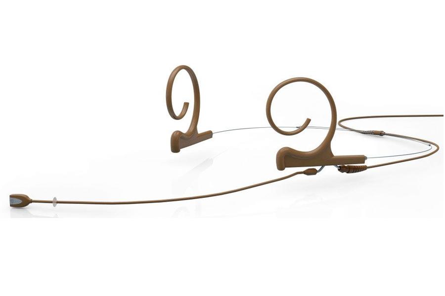 DPA Microphones ディーピーエーマイクロホンズ / FIDC00-2 d:fine 単一指向性ヘッドセット・マイクロホン ブラウン(茶)【お取り寄せ商品】