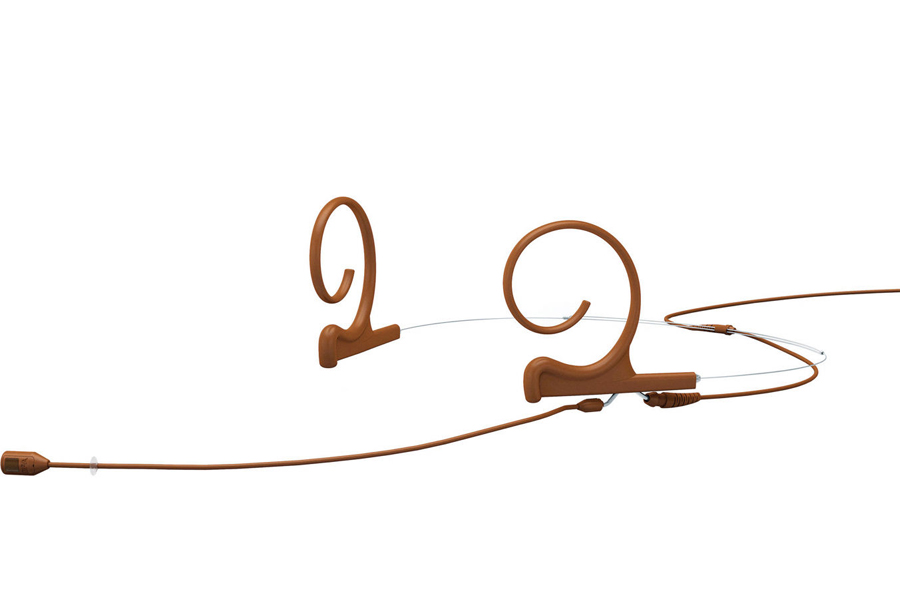 DPA Microphones ディーピーエーマイクロホンズ / FIO66C00-2 d:fine66 無指向性ヘッドセット・マイクロホン ブラウン(茶)【お取り寄せ商品】