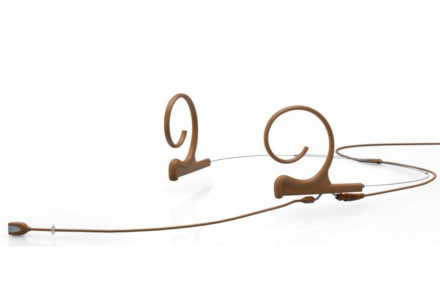 DPA Microphones ディーピーエーマイクロホンズ / FIOC00-2 d:fine 無指向性ヘッドセット・マイクロホン ブラウン(茶)【お取り寄せ商品】