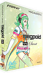 INTERNET インターネット / VOCALOID4 Library Megpoid V4 Sweet (VA4L-MPS01)【WEBSHOP】