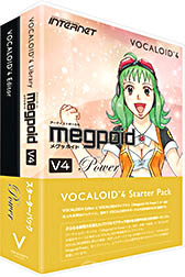 INTERNET インターネット / VOCALOID4 Starter Pack Megpoid V4 Power(VA4S-MPP01)【WEBSHOP】