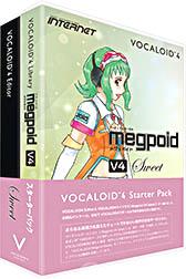 INTERNET インターネット / VOCALOID4 Starter Pack Megpoid V4 Sweet(VA4S-MPS01)【WEBSHOP】