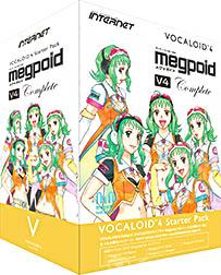 INTERNET インターネット / VOCALOID4 Starter Pack Megpoid V4 Complete(VA4S-MPC01)