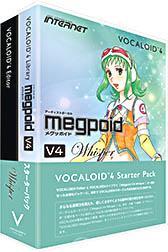INTERNET インターネット / VOCALOID4 Starter Pack Megpoid V4 Whisper(VA4S-MPW01)【WEBSHOP】