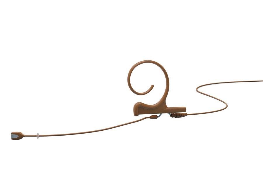 DPA Microphones ディーピーエーマイクロホンズ / FIDC00-M d:fine 単一指向性ヘッドセット・マイクロホン ブラウン(茶)【お取り寄せ商品】