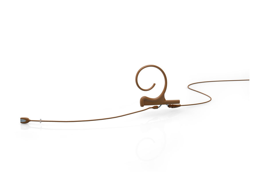 DPA Microphones ディーピーエーマイクロホンズ / FIOC00 d:fine 無指向性ヘッドセット・マイクロホン ブラウン(茶)【お取り寄せ商品】