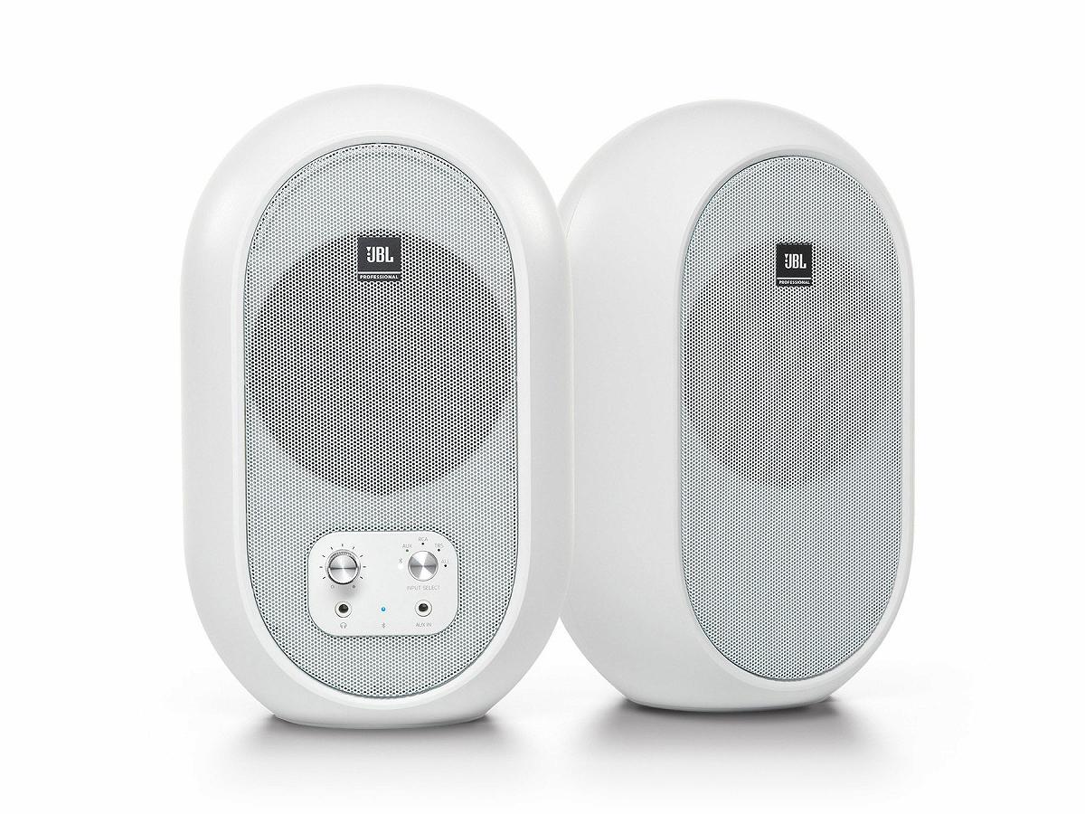 【在庫あり】JBL ジェービーエル / 104-BTW-Y3 (ホワイトカラー) Bluetooth対応 同軸スタジオモニター