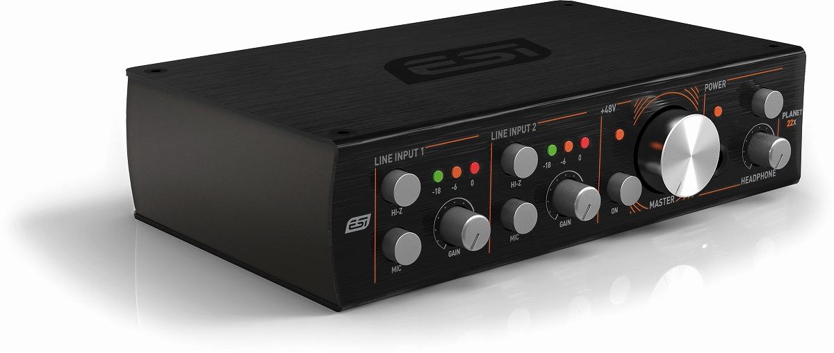 ESI Audiotechnik イーエスアイ / planet 22x Danteネッ トワーク・オーディオインターフェース【お取り寄せ商品】
