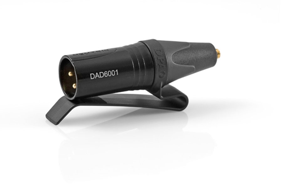 DPA Microphones ディーピーエーマイクロホンズ / DAD6001BC 変換コネクター(MicroDot→XLR3ピン)【お取り寄せ商品】