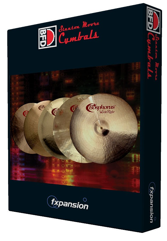 FXpansion / BFD3/2 Expansion Pack Stanton Moore Cymbals ドラム拡張音源【WEBSHOP】