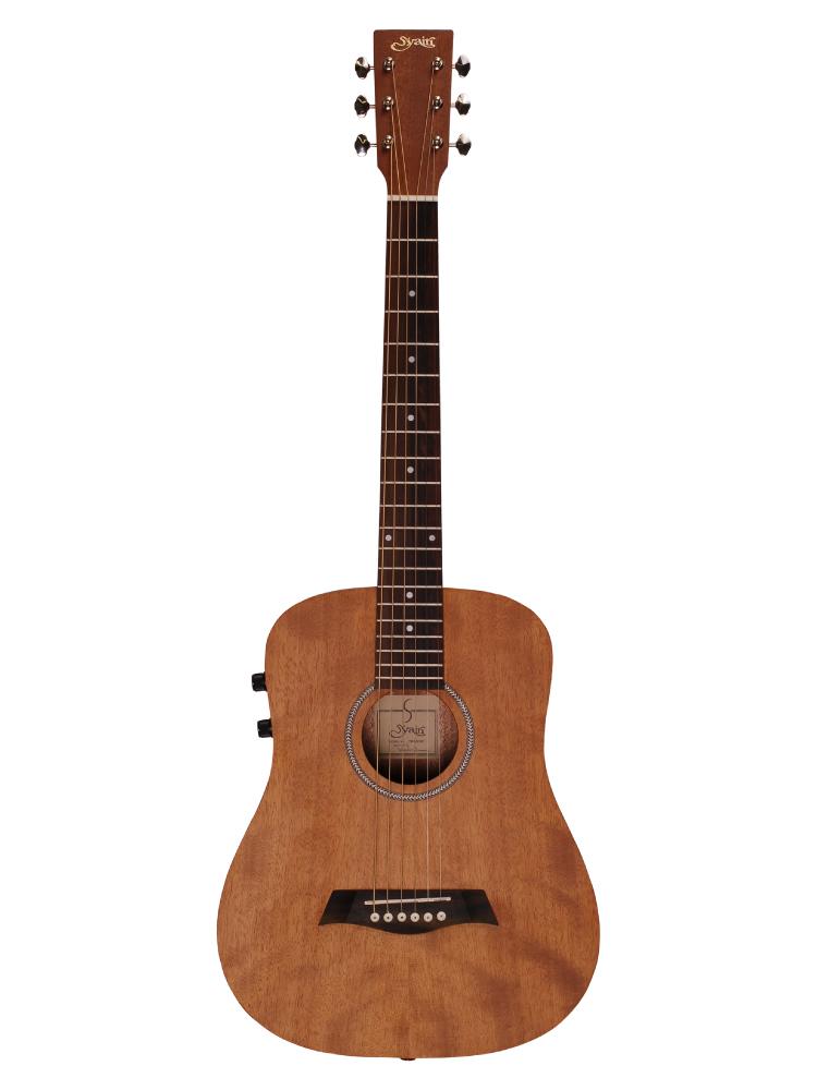 ミニギターで大人気のYM-02のピックアップ搭載モデル 在庫有り S.Yairi セール YM-02E MH マホガニー エレアコ ヤイリ ピックアップ搭載モデル ミニギター YM02E 新作 人気 ミニアコースティックギター