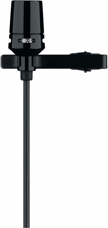 SHURE シュア / CVL-B/C-TQG コンデンサー型ラベリアマイクロフォン(カーディオイド)【お取り寄せ商品】