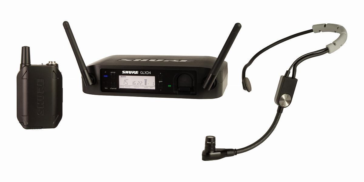 Shure シュアー / GLXD14/SM35 ヘッドセット ワイヤレス システム【お取り寄せ商品】