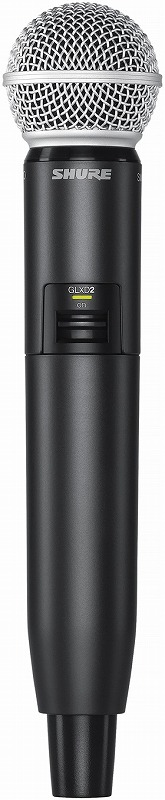 Shure シュアー / GLXD2/SM58 ハンドヘルド型送信機【お取り寄せ商品】