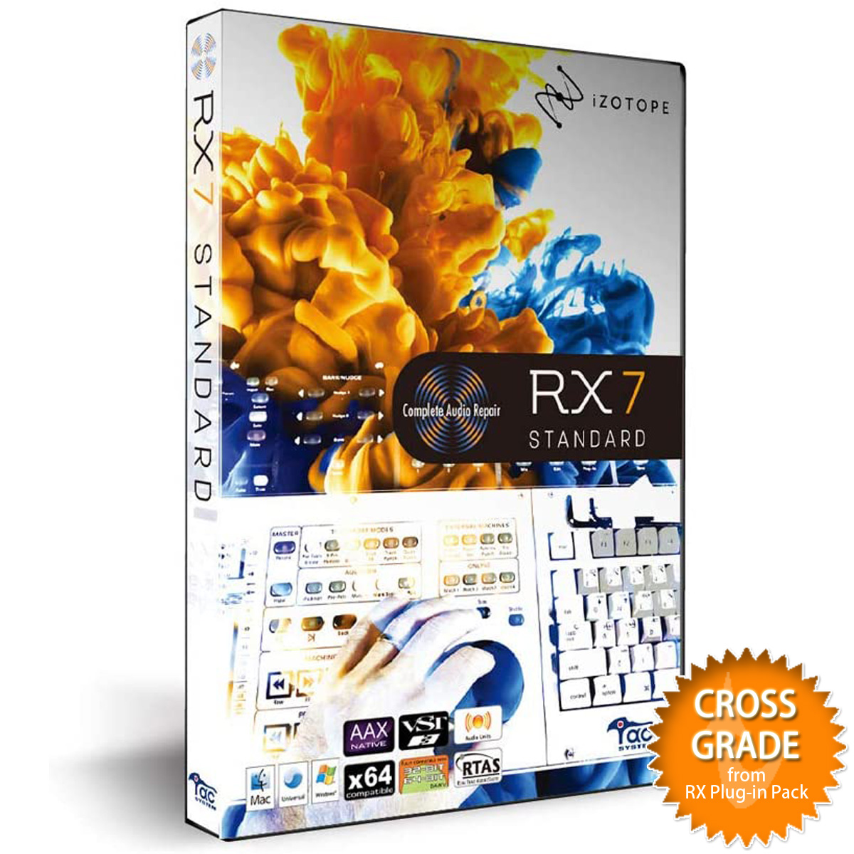 iZotope アイゾトープ / RX 7 Standard crossgrade from RX Plug-in Pack【お取り寄せ商品】